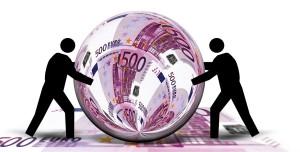 3 money palla 500 euro